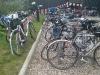 Masse sykler i registreringsområdet