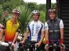 Bjørn, Michael og Jens i mål