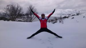 Ibrahim i snøen