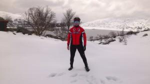 Johnny i snøen