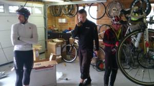 Inne på sykkelverkstedet