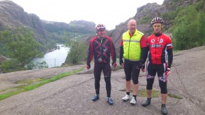 Sture, Reidar & Johnny ved Jøssingfjord